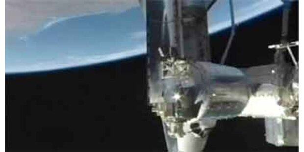 Discovery hat an ISS angedockt