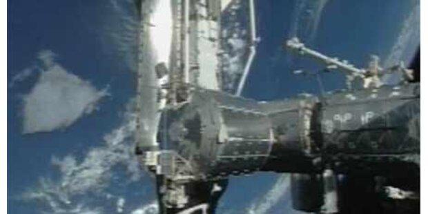 ISS begrüßte Discovery