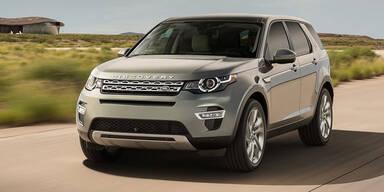Der neue Land Rover Discovery Sport
