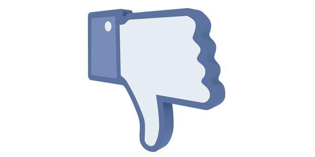 Facebook führt Dislike Button ein