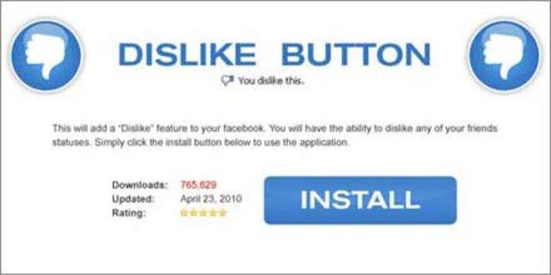 Vorsicht: Hacker bieten Dislike-Button an