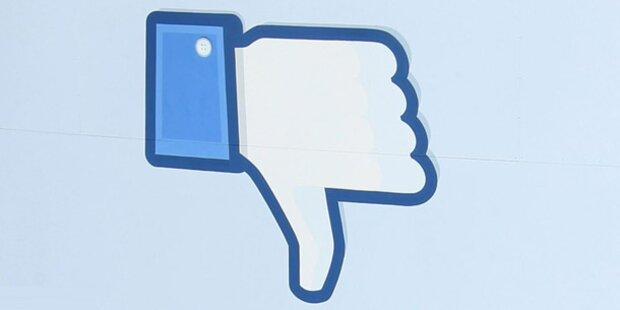 Facebook war mehrere Stunden offline