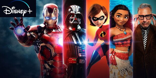 Disney+ ist da: Das sind die Top-Serien & -Filme