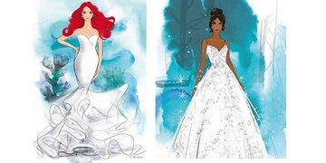 Disney-Brautkleider: Heiraten wie Arielle & Co.