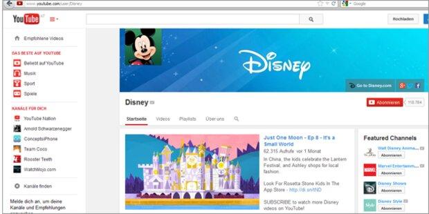 Disney kauft Profi für YouTube-Videos