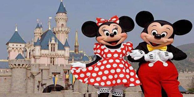 Im Disneyland werden Kinderträume wahr