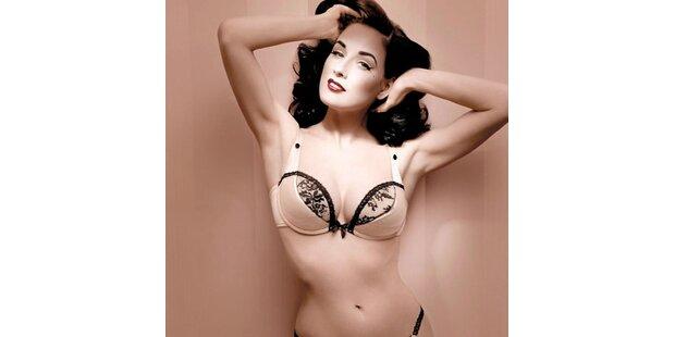 Ditas berühmte Brüste werben jetzt für Wonderbra