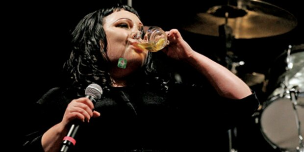 Whisky für Beth Ditto in Ischgl