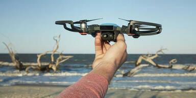 Coole DJI-Drohne mit Gestensteuerung