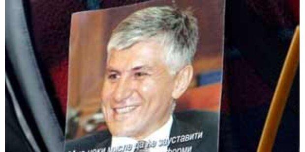 Prozess um Ermordung von Ex-Premier Djindjic