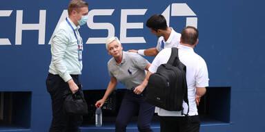 Djokovic verteidigt Linienrichterin: ''Nichts falsch gemacht''