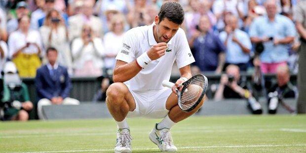 Bestes Finale aller Zeiten? Djokovic isst Gras