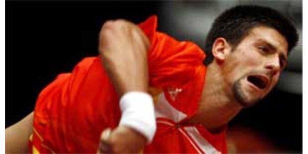 Djokovic holt sich Titel in Wien