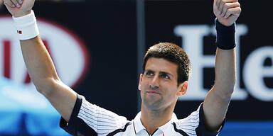 Djokovic ohne Satzverlust ins Achtelfinale