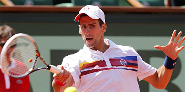Djokovic locker in Runde 2