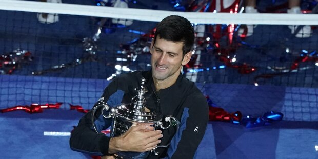 Djokovic gewinnt die US-Open