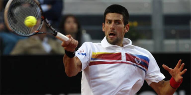 Djokovic wieder zu stark für Nadal