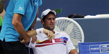 Djokovic gibt im Cincinnati-Finale auf