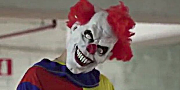 Horror-Clowns bedrohten zwei Mädchen in NÖ