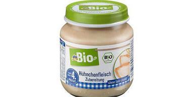 dm ruft Bio-Babynahrung zurück