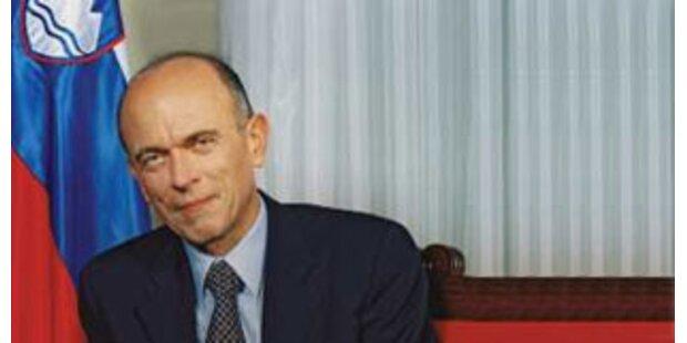Slowenischer Ex-Präsident Drnovsek gestorben