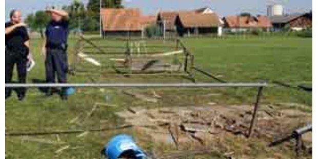 Mildes Urteil nach Explosion am Fußballplatz