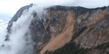 Massiver Felssturz in Kärnten