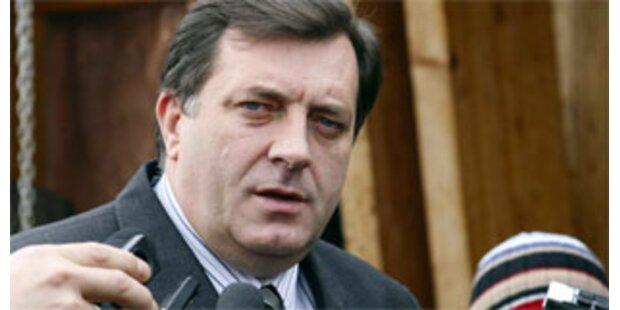 Dodik-Kandidat gewinnt offenbar Präsidentenwahl