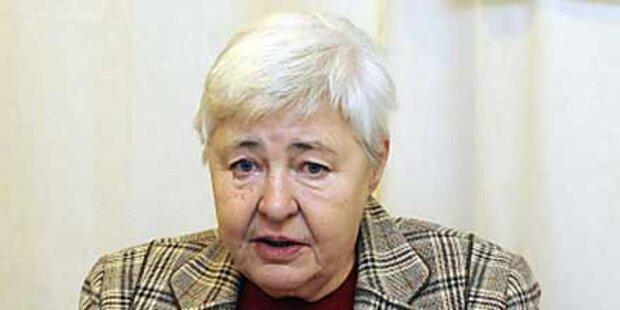Ehemalige Ministerin  Dohnal verstorben
