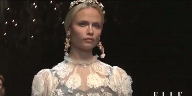 Königlich: Dolce & Gabbana - Kollektion 2012/13