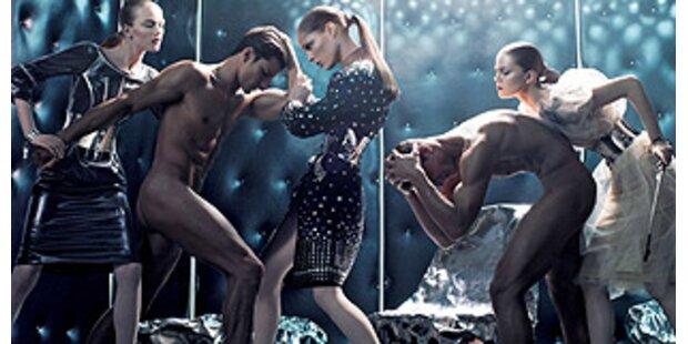 Peitschende Dominas bei Dolce & Gabbana