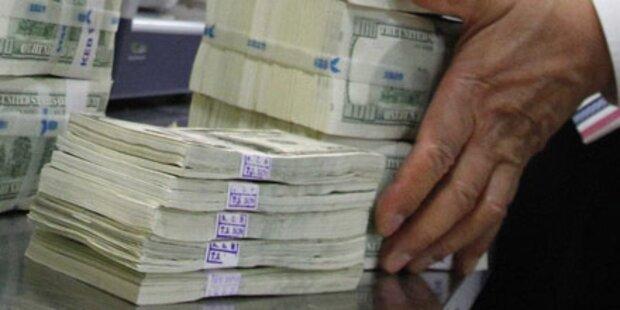 Milliarden Dollar aus Kabul weggeschafft