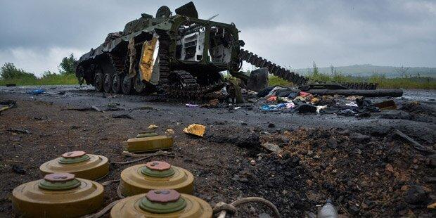Ukraine: Soldaten dringen in Donezk ein