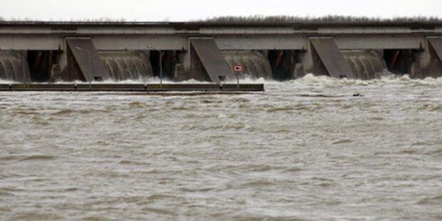 Donau-Pegel nur mehr leicht steigend