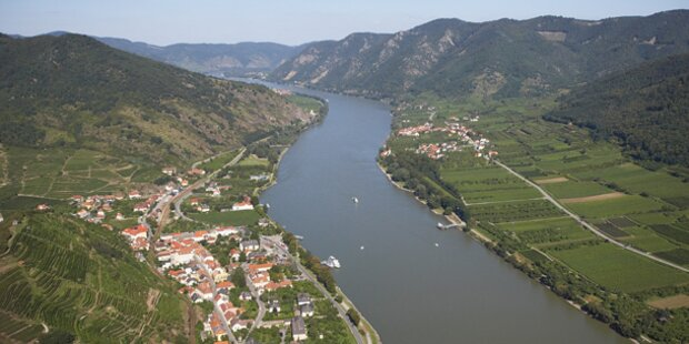 Die Donau ist voller Plastikmüll