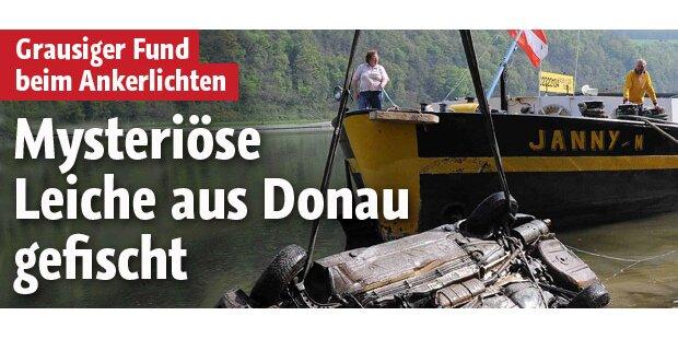 Mysteriöse Leiche in der Donau entdeckt