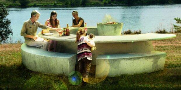 Donauinsel Bekommt Neue Grill Möbel