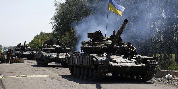 Ukraine: Armee rückt auf Donezk vor