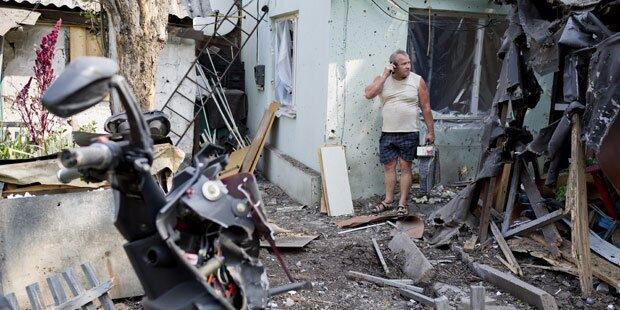 Russischer Hilfskonvoi ist aufgebrochen
