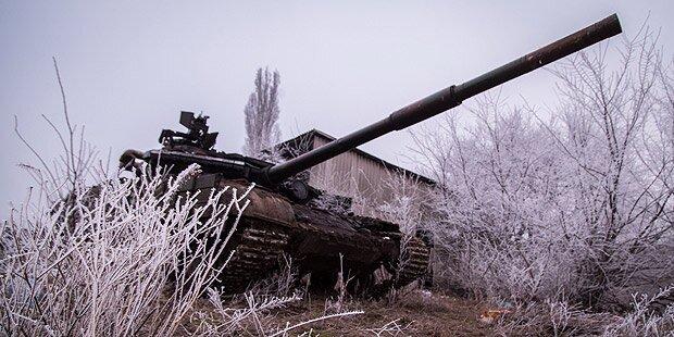 Ukraine: Kein Abzug schwerer Waffen