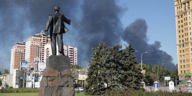 Ukraine: Drei Soldaten getötet