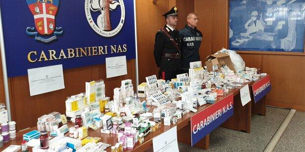 234 Festnahmen bei Anti-Doping-Razzia