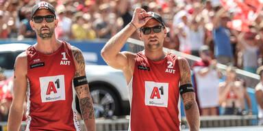 Beach-Volleyball: ÖVV-Duo zittert um Olympia-Chance