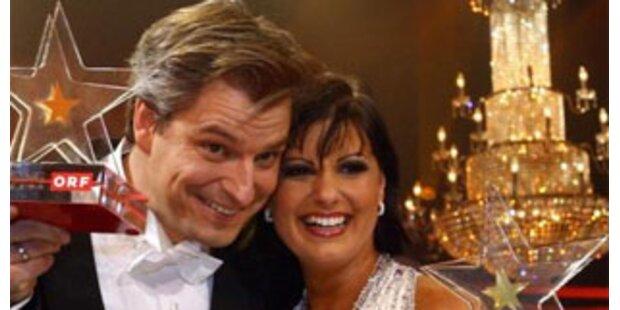 Dorian und Nicole tanzen für Ö in Glasgow