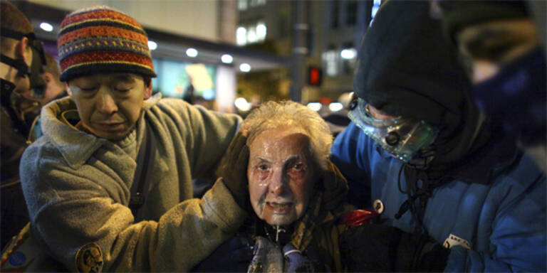 Occupy-Heldin kommt aus Österreich