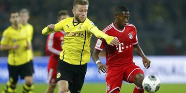 Bayern schocken auswärts Dortmund