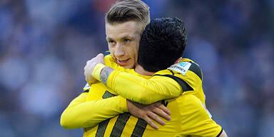 Dortmund sicher im Cup-Viertelfinale