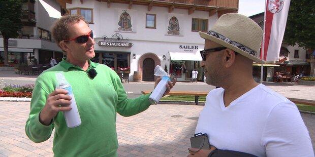 Verrückte Idee? Tiroler Arzt verkauft Luft in Dosen