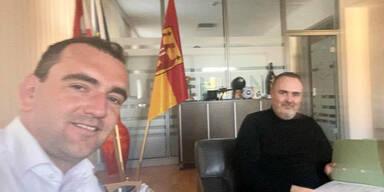 Doskozil erstmals nach Operation wieder im Büro