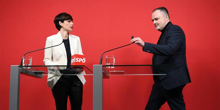Doskozil widerspricht in Flüchtlingsfrage wieder Parteichefin